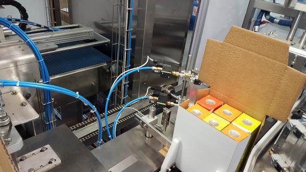 Cartoning machines
